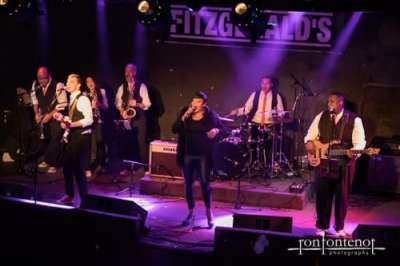 Keeshea Pratt Band performing at Fitzgeralds for the International Blues Challenge finals