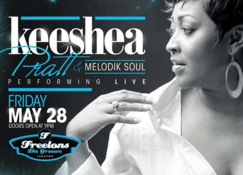 Keeshea Pratt and Melodik Soul perform at Freelons
